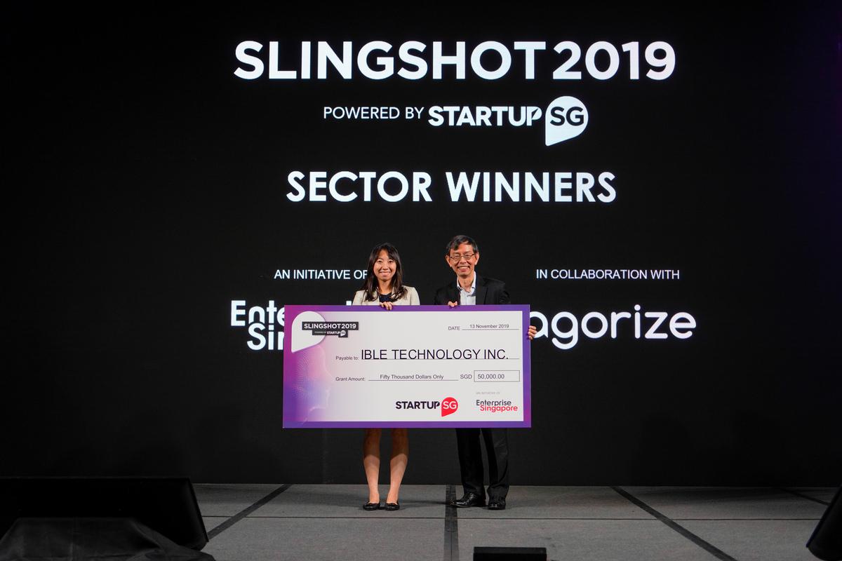 Slingshot - winner of sectors - ible Airvida - Wearable Air Purifier